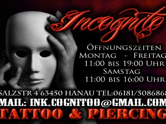 LEGO-Sammelstelle bei Incognito Tattoostudio