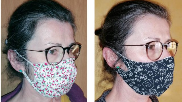 Community-Maske vom Repair-Café
