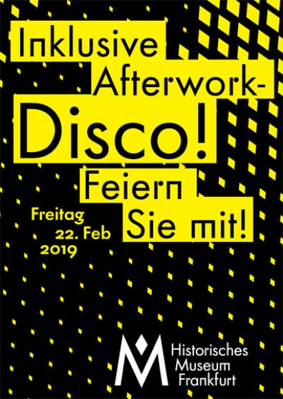 Multimediaguide-Tour und inklusive Afterwork-Disco
