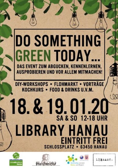 "Nachhaltigkeitsmesse ""DO SOMETHING GREEN TODAY"""